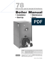78 Manual - weil mclain boiler