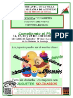 CARTEL CAMPAÑA RECOGIDA DE JUGUETES.
