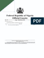 Ghana WAGP Regulations
