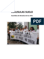 CLÁUSULAS SUELO BENALUA