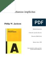 Enseñanzas implicitas Philip jackson
