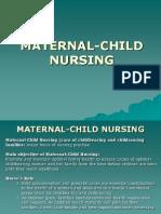 Maternal Child Nursing