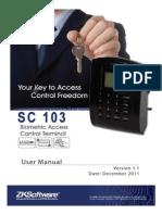 SC103 User Manual
