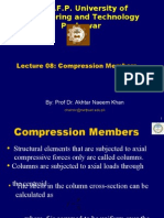 Lecture -0008 Compression Members
