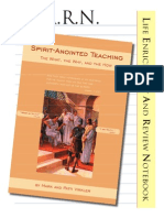 Spirit Anointed Teaching Seminar Guide Revised