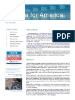 Barack Obama 08 Newsletter Vol 1, Issue 1