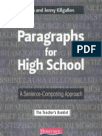 Paragraphs for High School - The Teacher's Booklet - 67p