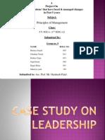 Case Study on Leadership of Bill Gates & Steve Jobs