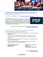Preview Corporate Governance Compliance Strategies 2014