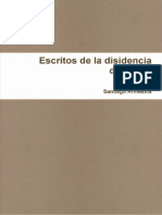 santiagoarmesilla disidencia disidente