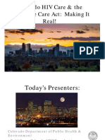 ACA Presentation for Community Forum Dec 10 2013