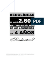 Aerolíneas Argentinas - Informe de contabilidad forense