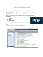 Openppm 2.0 Installation Guide