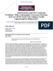 Ijccr-Vol-5-2001-4-Schraven - Mutual Credit Systems and the Commons Problem - Why Community Currency Systems Such as LETS Need Not Collapse Under Opportunistic Behaviour