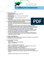 lesson plan 3 applying the competencies