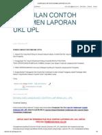 Download Kumpulan Contoh Laporan Ukl Upl