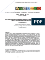 Ijccr-Vol-11-2007-5-Pereyra - Exploring Gender Divisions in a Community Currency System - The Case of the Barter Network in Argentina