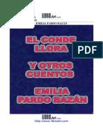 Pardo Bazán, Emilia - El conde llora y otros cuentos