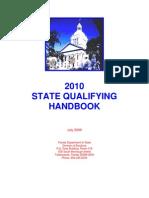 Florida 2010 State Qualifying Handbook