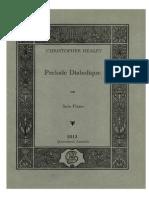 Prelude Diabolique for Solo Piano