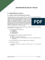 Reglamento Argentino de Estudios Geotécnicos - Descripción de suelos y rocas