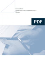 Universo. Análisis del Mercado de soluciones ERP 2011