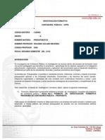 Form Invest Formativa Presupuestos Grupo a Oct 2012