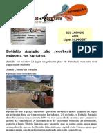Estádio Amigão não receberá capacidade máxima no Estadual