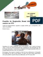 Família de Reginaldo Rossi divulga foto de cantor na UTI