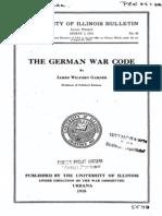 German War Code
