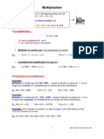 multiplication (6ème)