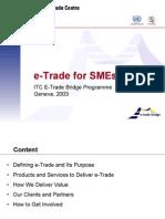 E-Trade for SMEs