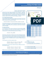 Link Budget Calculation -- Tranzeo Link Budget Whitepaper