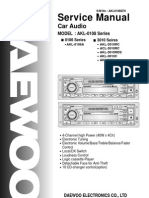 Daewoo Akl-0106a Car Audio SERVICE MANUAL