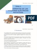 Máquinas Eléctricas - Fundamentos de las Máquinas Eléctricas Rotativas