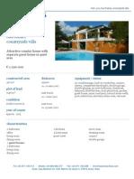 Country Villa For Sale In San Rafael Ibiza - €1.290.000