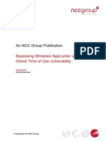 2013-12-04 - Ncc - Technical Paper - Bypassing Windows Applocker 2