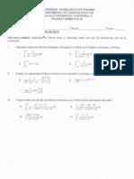 prueba formativa 3 - formas indeterminadas e integrales impropias
