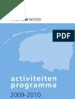 Activiteitenboekje 2009-2010