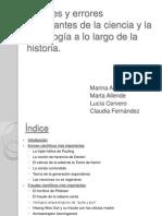 Fraudes y Errores Cientificos CMC.