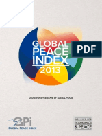 2013 Global Peace Index Report