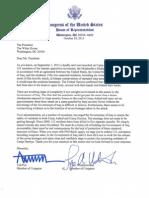 Letter to President Obama on the killings at Camp Ashraf