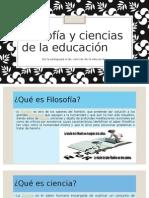 Presentacion Filosofia y Ciencias