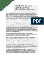 El Trabajo en Los Movimientos