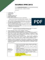 Conteúdo - IFPB