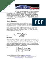 How Pump Speed and Impeller Diameter Affect NPSHR