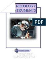 Gynecology Surgical Instruments Catalog