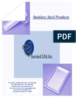 Stainless Steel Trays Catalog