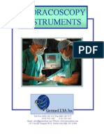 Thoracoscopy Surgical Instruments Catalog