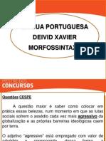 Português - David Xavier